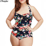 xl-5xl one piece swimsuit plus size swimwear