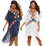 Cover Up Tunic Beach Dress