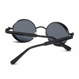 AEVOGUE Polarized Sunglasses For Men/Women Steampunk Style Round Alloy Frame