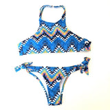 TRIKINI New Arrival Bikini Push Up  Adjustable Beachwear Lace-up Swimsuits