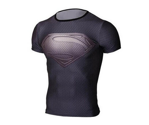 NEW  T shirt superman breathable