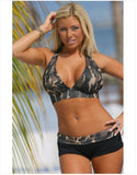 plus size swimwear bikini swimsuit large push up swimsuit