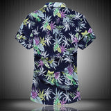 High Quality Mens Short Sleeve Hawaiian Shirt