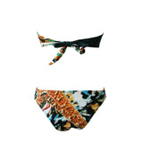 Bandeau Vintage Push Up Bikini