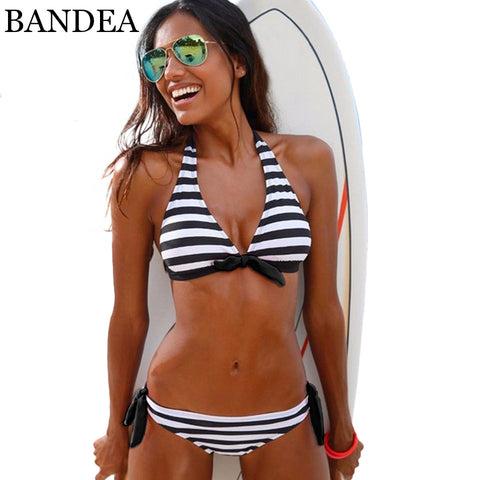 BANDEA Halt Adjustable Strap Bandage Bikini