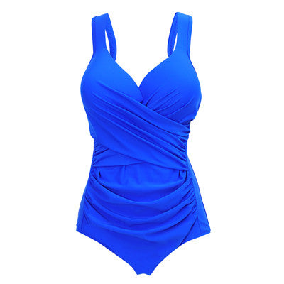 Sport Style Plus Size Swimsuit High Quality V Neck Push Up