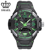 Chronograph Sports Water Proof Digital Outdoor Military Watch