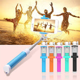 18.5-80cm Mini Portable Selfie Stick For iphone Samsung SmartPhones