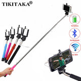 22-100cm Portable Extendable Handheld Selfie Stick For Iphone Samsung Android