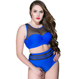 Plus Size High Waist Bikini Set Brazilian