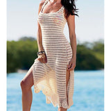 Sexy Knitted Beach Cover up