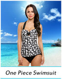 One Piece Swimsuit New Plus Size