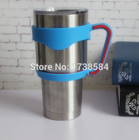 New product plastic handle for 30oz yeti tumbler, travel beer mug