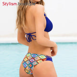 Strappy Bikini  Multi String Brazlian Swimwear