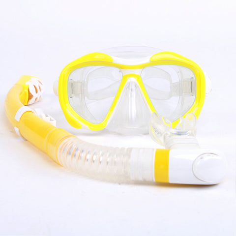 Snorkeling Equipment Anti-Fog Silicone Scuba Diving Mask Snorkel set