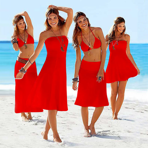 Convertible Cover ups Summer Beach Dresses for Women