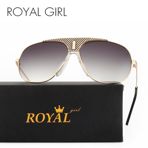 ROYAL GIRL Top Quality Sunglasses Men Brand Designer Aviator Driving