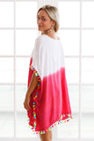 Summer Dress Long Maxi Loose Dress Striped Batwing Sleeve