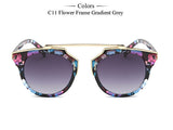 New Fashion Cat Eye Sunglasses Women Brand Designer Vintage Sun Glasses