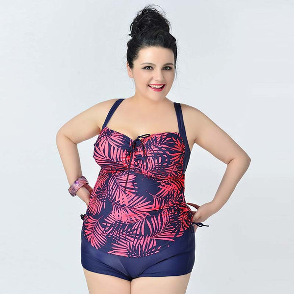 bathing suits for plus size tankinis set halter plus size swimwear 12382