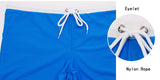 ESCATCH Men's Sexy Swim Trunks Surf Board Beach Wear