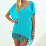Beach Sexy Cape tunic Cover Up