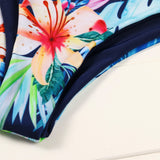 Bikini Set Push-Up Padded Print Bra Swimsuit