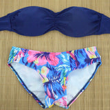New Womens Brazilian Low Waist Bikini Set Swimwear