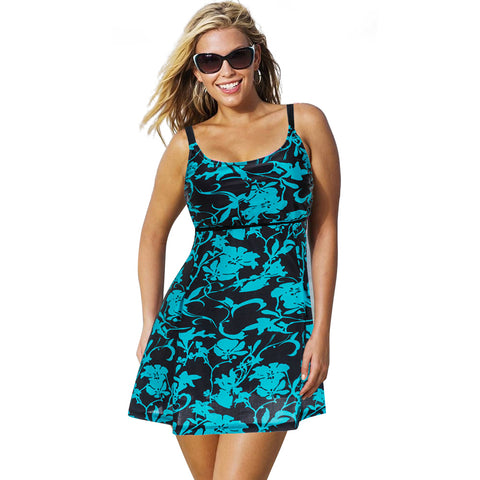 Plus Size Bathing Suit Dress