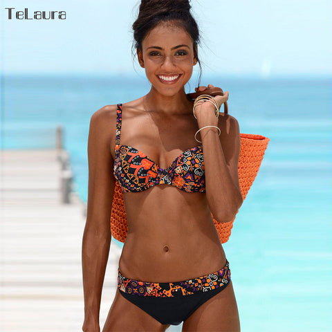 Beach Wear Retro Swim Suit Bikini