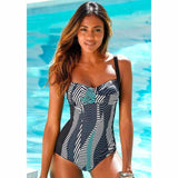 One Piece Retro Vintage Bathing Suit