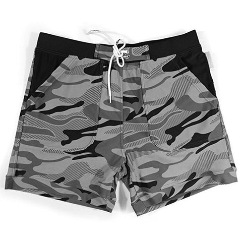 Men's Camouflage Board Shorts Quick Dry Trunks