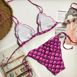 Mermaid Bikini Set Beachwear