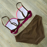Sexy Bikinis Set  Retro Bathing Suit Swim