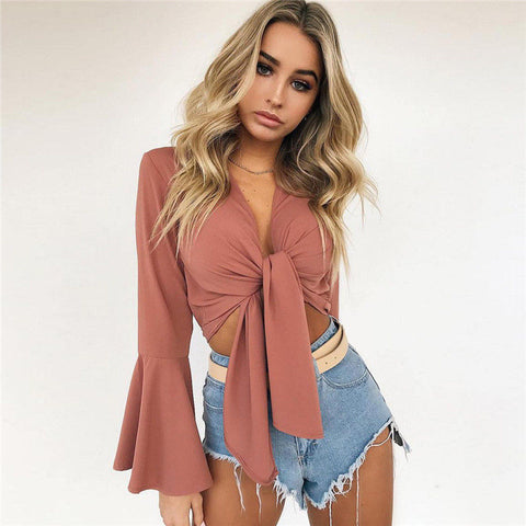Boho Beach wear Top Vest Blouse long Sleeve