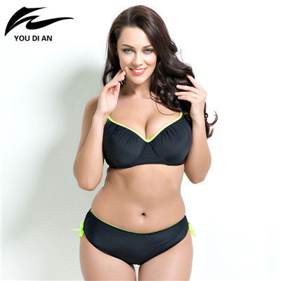 Push up women plus size Bikini set