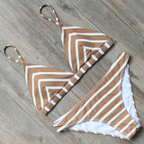 Push Up Bikini Halter Bandage Swimsuit