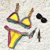 Low Waist Handmade Knit Swimsuit