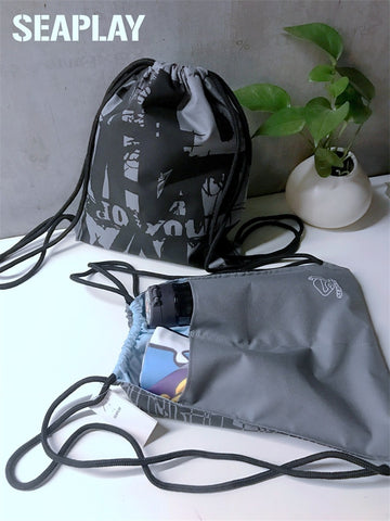 Seaplay Waterproof drawstring Dry and Wet Detached Backpack