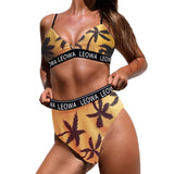 Camo Bikini Swimsuit Women High Waist