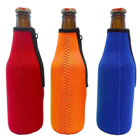 Zip Holder 1Pcs Neoprene 330ml Beer Soda Can Sleeve