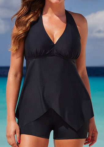 Sexy Two piece RetroTankini Swimsuit