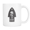 OAF Arrow - White Black Opaque - Coffee Mug