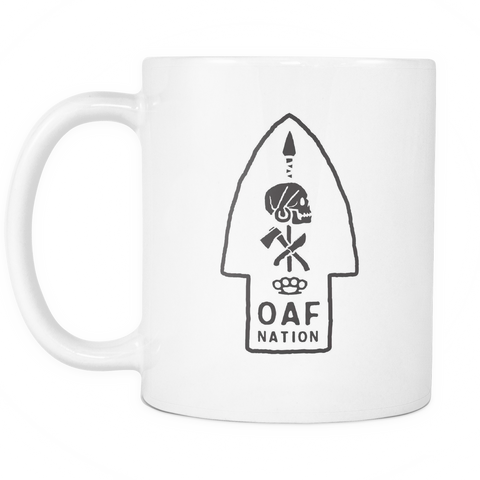 OAF Arrow - Black - Coffee Mug