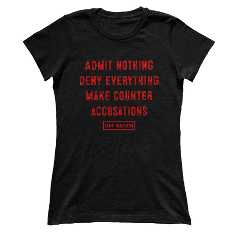 ADMIT NOTHING - Ladies