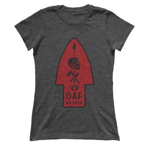 OAF Arrow - Black Red - Ladies