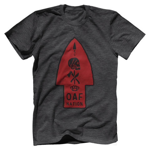 OAF Arrow - Black Red