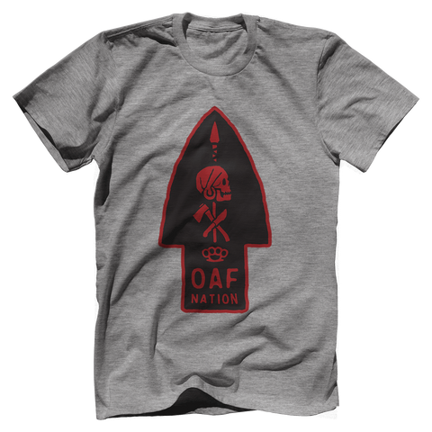 OAF ARROW - RED BLACK