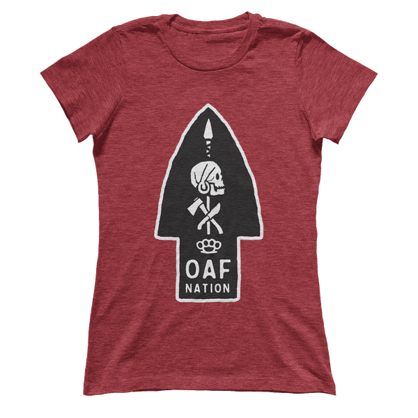 OAF ARROW - WHITE BLACK OPAQUE - Ladies
