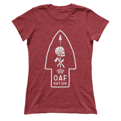 OAF ARROW - WHITE - Ladies